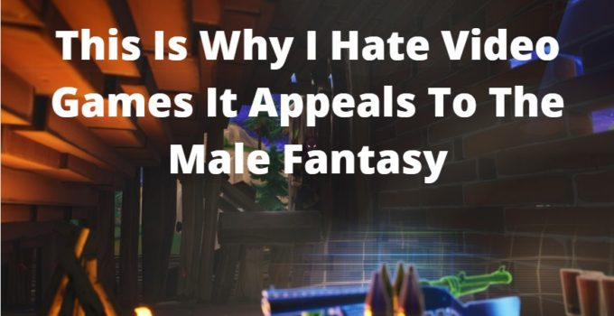 This Is Why I Hate Video Games It Appeals To The Male Fantasy