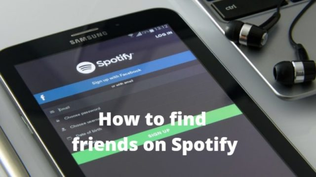 find friends on spotify