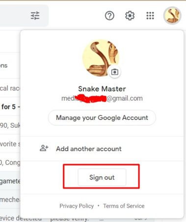 Stay Signed in to Gmail
