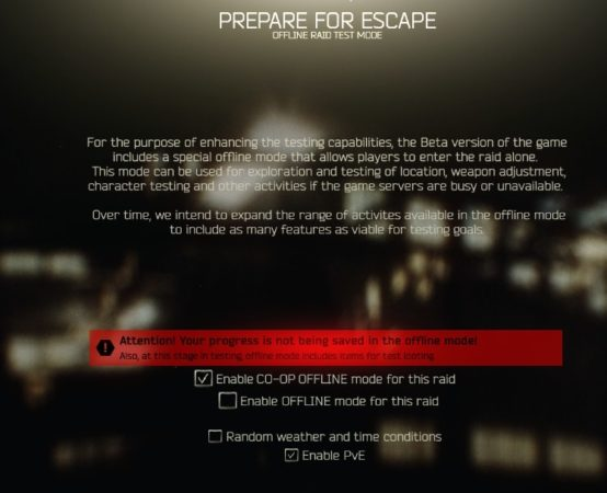 Play Escape From Tarkov 3