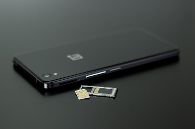 SIM Card Installed