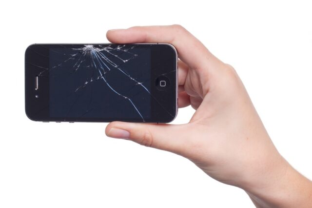 How to erase iphone with broken screen