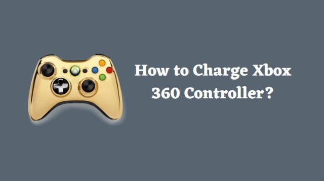 How to Charge Xbox 360 Controller