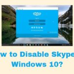 How to Disable Skype in Windows 10?